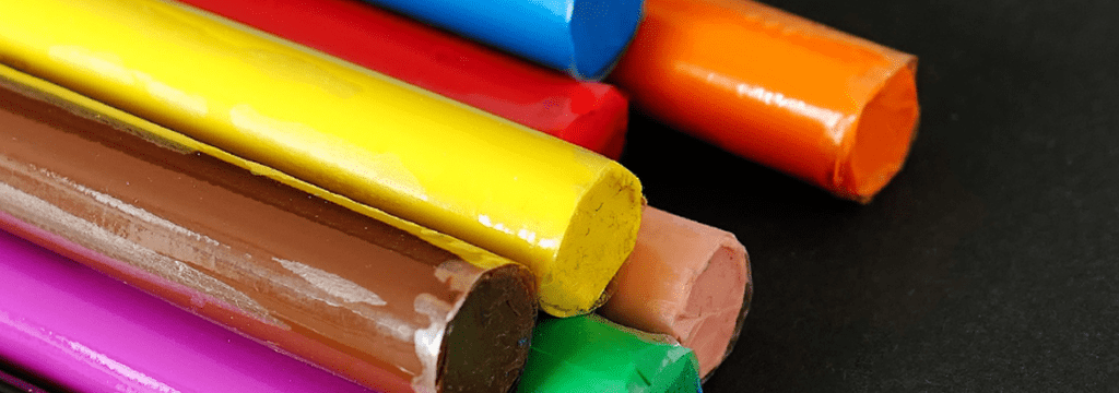 An image of colourful playdough for the Play-dough-Banner